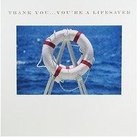 Susan O'hanlon 'Thank You...you're A Lifesaver' Lifebuoy Card