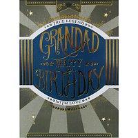 Mint Legend Grandad Birthday Card