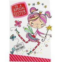 Rachel Ellen Special Sister Birthday Card