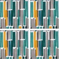 John Lewis Scandi Ingrid Napkins, Set of 4, Blue/Multi