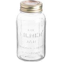 Kilner Anniversary Special Edition Storage Jar, 1.5L, Clear