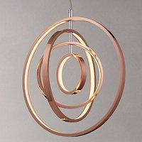 John Lewis Cosmic LED Ceiling Light, Copper