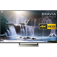 Sony Bravia 55XE9305 LED HDR 4K Ultra HD Smart Android TV, 55 with Freeview HD, Youview & Ultra-Slim Design