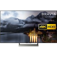 Sony Bravia 65XE9005 LED HDR 4K Ultra HD Smart Android TV, 65 with Freeview HD & Youview, Black