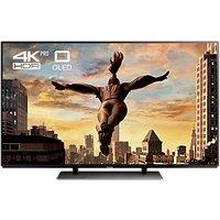 Panasonic 55EZ952B OLED HDR 4K Ultra HD Smart TV, 55 with Freeview Play & Super Slim Design, Black, UHD Premium