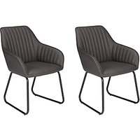 John Lewis Brooks Dining Arm Chairs, Set of 2