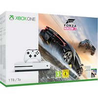 Microsoft Xbox One S Console, 1TB, with Forza Horizon 3