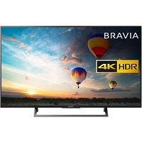Sony Bravia 49XE8005 LED HDR 4K Ultra HD Smart Android TV, 49 with Freeview HD & Youview, Black