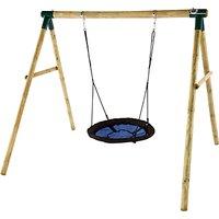 Plum Spider Monkey Swing Set