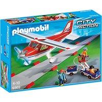 Playmobil City Action Plane Playset