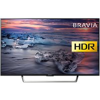 Sony Bravia 43WE753 LED HDR Full HD 1080p Smart TV, 43 with Freeview HD & Cable Management, Black