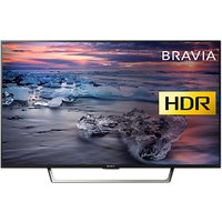Sony Bravia 49WE753 LED HDR Full HD 1080p Smart TV, 49 with Freeview HD & Cable Management, Black