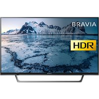Sony Bravia 40WE663 LED HDR Full HD 1080p Smart TV, 40 with Freeview HD & Cable Management, Black