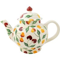 Emma Bridgewater Summer Cherries 4 Mug Teapot, Multi, 1.2l