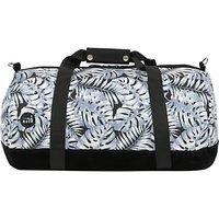 Mi-Pac Tropical Leaf Duffel Bag, Grey