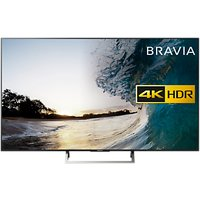 Sony Bravia 65XE8596 LED HDR 4K Ultra HD Smart Android TV, 65 with Freeview HD & Youview, Black
