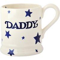 Emma Bridgewater Daddy Starry Skies Half Pint Mug, White/blue, 310ml