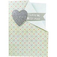 Paper Salad Thank You Best Man Card
