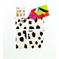 Woodmansterne Pattern Prezzie Birthday Card