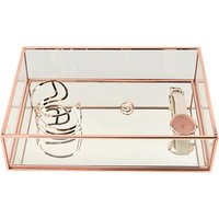 Stackers Classic Deep Open Jewellery Box, Rose Gold