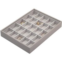 Stackers Classic Criss Cross Section Jewellery Box