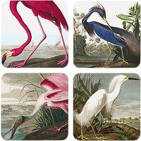 Magpie Birds Coasters, Set of 4
