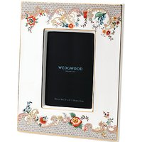 Wedgwood Wonderlust Rococo Flowers Picture Frame, White/Multi, 4 x 6 (10 x 15cm)
