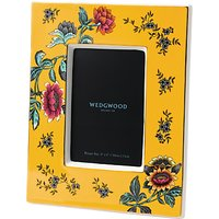 Wedgwood Wonderlust Tonquin Picture Frame, Yellow/Multi, 4 x 6 (10 x 15cm)
