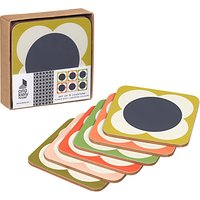 Orla Kiely Flower Spot Coaster, Set of 6, Multi