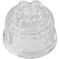 Tala Originals Vintage Glass Round Jelly Mould, Clear, 350ml