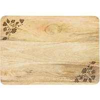 John Lewis Mango Wood Chopping Board, 36cm