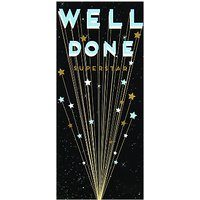 Art File Well Done Superstar Greeting Card