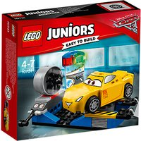 Lego Juniors 10731 Disney Pixar Cars 3 Cruz Ramirez Race Simulator