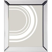 John Lewis Simple Bevel Photo Frame, 8 x 10 (20 x 25cm), Clear