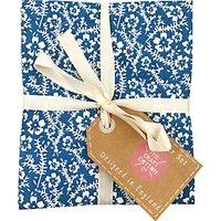 Craft Cotton Co. Oxford Denim Fat Quarter Fabrics, Pack of 6, Blue