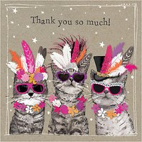 Hammond Gower Cat Thank You Notecards, Pack Of 8