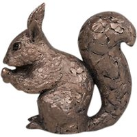 Frith Sculpture Red Squirrel With Nut, by Adrian Tinsley