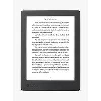 New Kobo Aura H2O eReader, 6.8 Carta E-Ink Touchscreen, Waterproof & Dustproof, Wi-Fi, 8GB