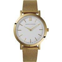 Larsson & Jennings Womens Lugano Bracelet Strap Watch