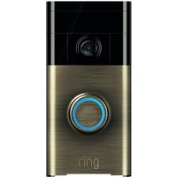 Ring Smart Video Doorbell with Built-in Wi-Fi & Camera