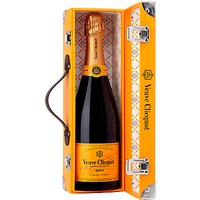 Veuve Cliquot Yellow Label Champagne Gift Trunk, 75cl