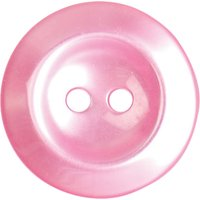Groves Rimmed Button, 19mm, Pack of 4