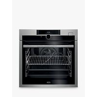 AEG BSE874320M Single Pyrolytic Oven with Steam, Stainless Steel