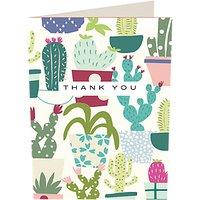 Caroline Gardner Cactus Thank You Notecards, Pack Of 10