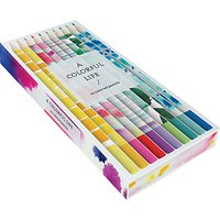 Chronicle Books Colourful Life Pencils, Pack of 10