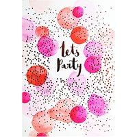 Hotchpotch Lets Party Greeting Card
