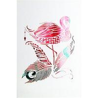 Paperlink Flamingo Greeting Card