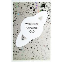 Paperlink Planet Old Greeting Card