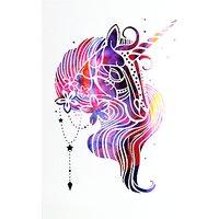 Paperlink Unicorn Greeting Card