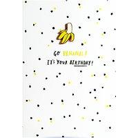 Hotchpotch Open Banana Greeting Card